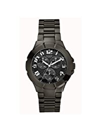 Guess Men's W11010G1 Black Stainless-Steel Quartz Watch with Black Dial