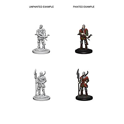 Pathfinder Deep Cuts Unpainted Miniatures: Wave 4: Town Guards: Toys & Games