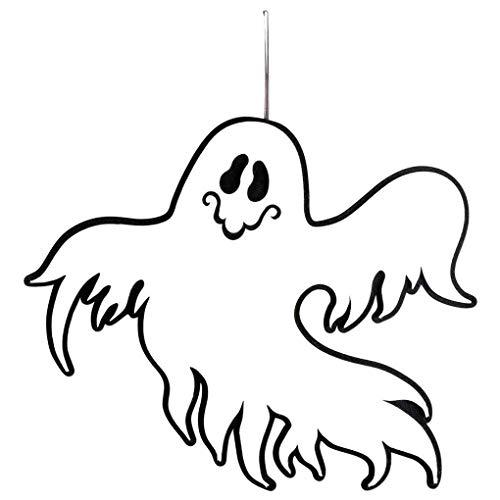Halloween Phantom Letter (Topfire Halloween Ghost Phantom Pendant Door Decor Hanging Party Club Decoration Ornament Window Wall Hanger)