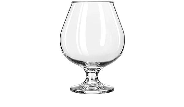 Circleware Biltmore Brandy copa cerveza vasos de Whisky, 14 onzas, juego de 6 vasos de licor cristal bar: Amazon.es: Hogar