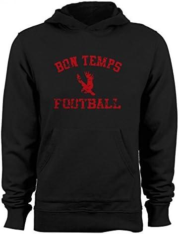 GEEK TEEZ Bon Temps Football Women`s Hoodie