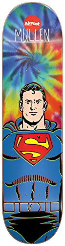 Almost 10023791Y Superman Tie Dye Deck, 7.5-Inch, Rodney Mullen