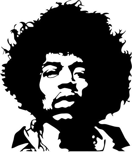Jimi Hendrix Rock Band Vinyl Decal Sticker- 6