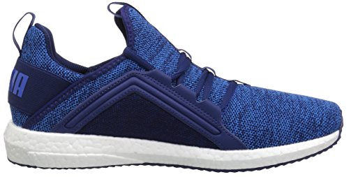 Puma Heren Mega Nrgy Gebreide Sneaker Blauw Diepte-lapis Blauw