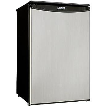 Danby DAR044A5BSLDD Compact All Refrigerator, Spotless Steel Door, 4.4
