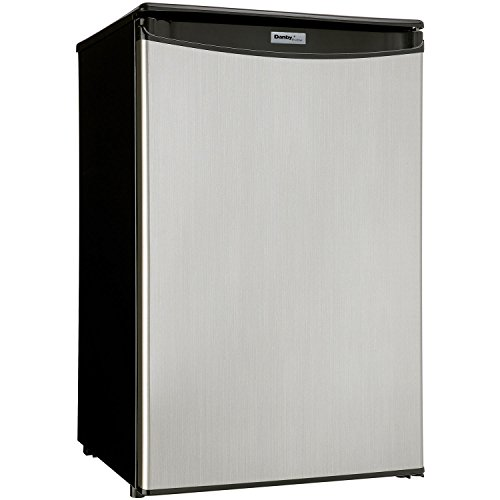Danby DAR044A5BSLDD Compact All Refrigerator, Spotless Steel Door, 4.4 Cubic Feet by Danby