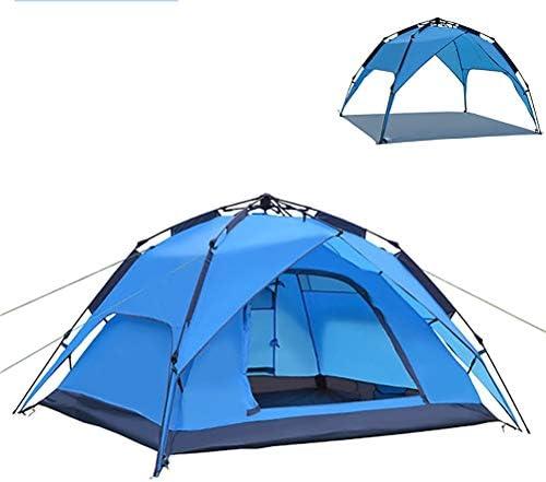 Waterdichte Camping Sun Shelter Beach Tent Backyard Canopy/Onmiddellijke Omhoog Draagbare Rainproof/Voor Gebeurtenissen, Familie Picknicks,Blue