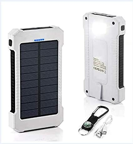 Mobile Phone Adapters No Battery Diy Power Bank Case Battery Charger Kits Box Attractive Fashion 100% Quality Waterproof 50000mah Solar Panel Led Dual Usb Ports