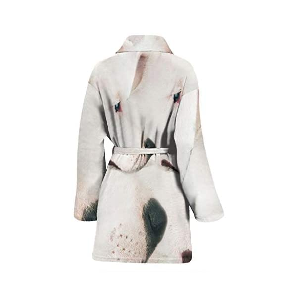 Simply Cool Trends Dogo Argentino Dog Print Women's Bath Robe 2