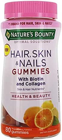 Nature's Bounty Hair, skin & nails with biotin and collagen