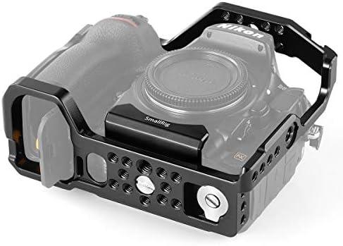 SMALLRIG D850 Cage con Cold Shoe Incorporada y NATO Rail para ...