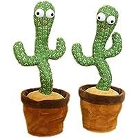 Cactus Plush Toys Dancing Cactus Electronic Dancing Cactus Lovely Singing Cactus Plush Cactus Toys Interesting Children…