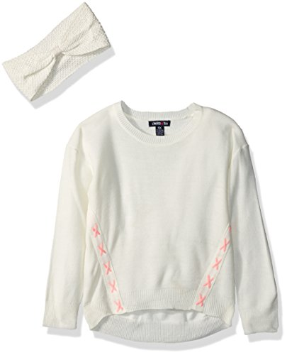 Limited Too Little Girls' Pullover Sweater (More Styles Available), Vanilla, 4 by Limited Too
