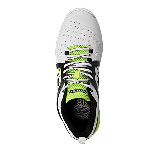 Kookaburra Unisex Adults' 2018 Kcs 2000 Spike Cricket Shoes Yellow (White/Fluo Yellow N/A) jJ3CMKj
