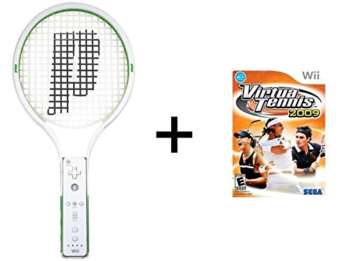 Virtua Tennis 2009 with Prince Tennis Racquet Controller Attachment