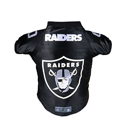 Littlearth NFL Oakland Raiders Premium Pet Jersey, Small