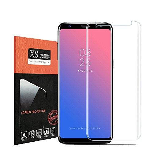 For Galaxy S8 [Case Friendly] Tempered Glass Screen Protector?Onexix [HD Clear] 9H Hardness [Bubble Free] Anti-scratches Easy Installation Premium Screen Protector for Samsung Galaxy S8