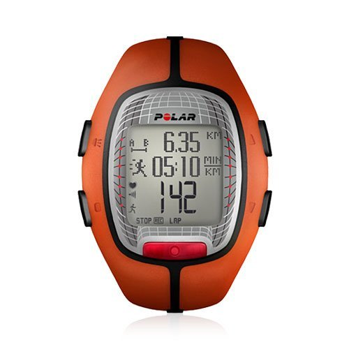 Polar RS300X Heart Rate Monitor Watch (Orange) Athletics, Exercise, Workout, Sport, Fitness (Heart Rate Monitor Rs300x)