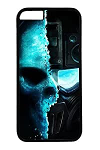 Cool Skull Sniper Slim Hard Cover Case For Ipod Touch 4 Cover PC Black Cases