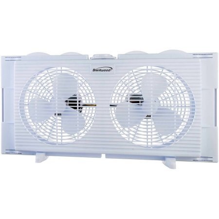 Brentwood 2-in-1 Window Fan (Vertical Window Exhaust Fan compare prices)