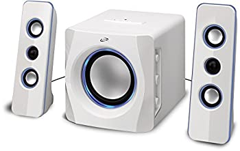 Ilive Portable Wireless Speaker System With Built-in Subwoofer, 7.28 X 8.86 X 7.28 Inches, White (Ihb23w) 0