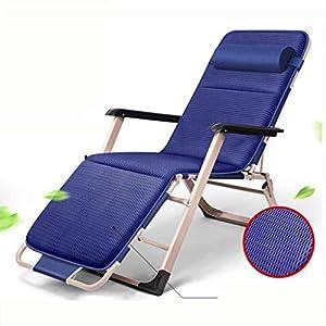 MXueei Regolabile Poltrona Chaise, con poggiatesta Sedia gravità bracciolo reclinabile Lounger Zero Nap Bed Sedia… 8 spesavip