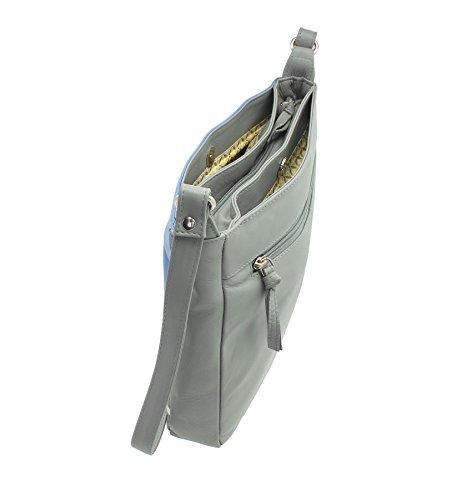 Croce Pelle In Body Borsa 89 Grey Mala Tracolla A Beau 7112 Collection r0CrqwxF