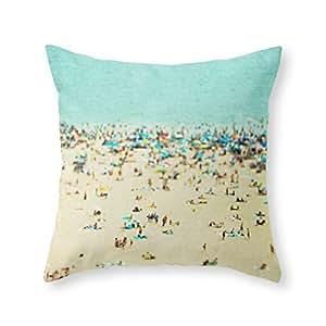 Pillowcases Coney Island Beach 18x18(inches)