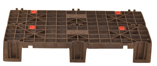 Lock Fast (Fast Lock FLP-02-001 HDPE Recycled Plastic Adaptable, Interlocking Pallet and Storage System (Pack of 2))