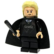 LEGO Harry Potter LOOSE Mini Figure Lucius Malfoy with Cape Wand