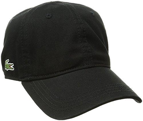 lacoste-mens-mens-classic-gabardine-3cm-croc-cap-black-one-size