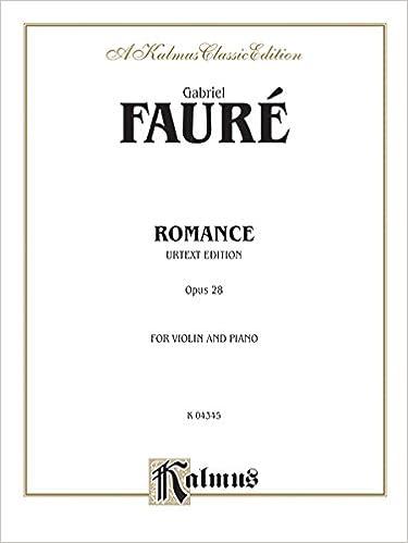 _DOCX_ Romance, Op. 28 (Urtext) (Kalmus Edition). faculty imagine recipe Paraiso Estados 41kAXNr7sFL._SX373_BO1,204,203,200_