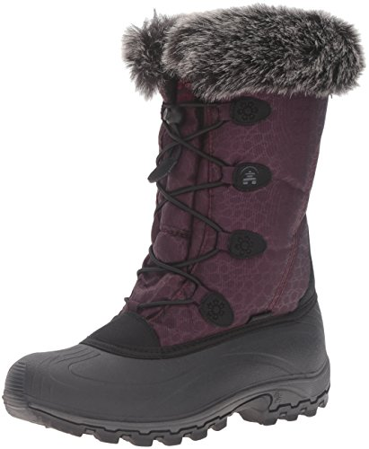 Kamik Women s Momentum Snow Boot, Burgundy, 9 M US