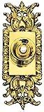 Ornate Victorian Rococo Doorbell Push Button (ZLW-67BL)