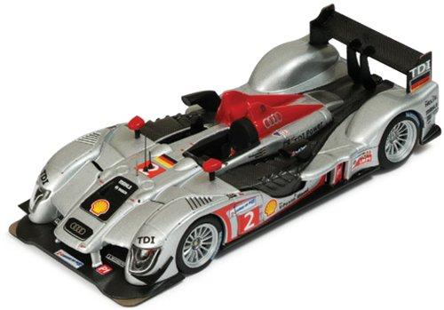 1/43 アウディR15 TDI LMP1 2009年 ル・マン24時間 #2 ドライバー:L.Luhr/M.Rockenfeller/M.Werner LMM162
