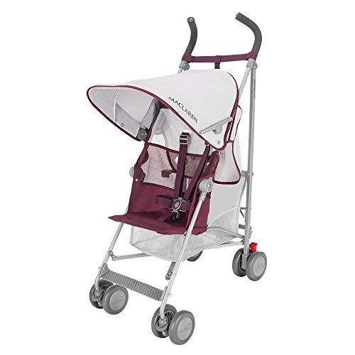 Maclaren Volo Baby Stroller (Maclaren WM1Y010282 Volo Plum, Multi)