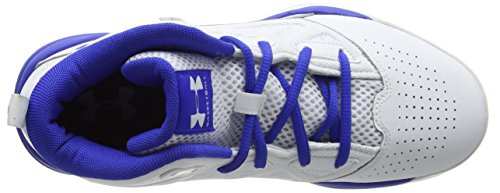 Under Armour Ua Bgs Jet Mid, Zapatillas de Baloncesto para Niños Blanco (White 102)