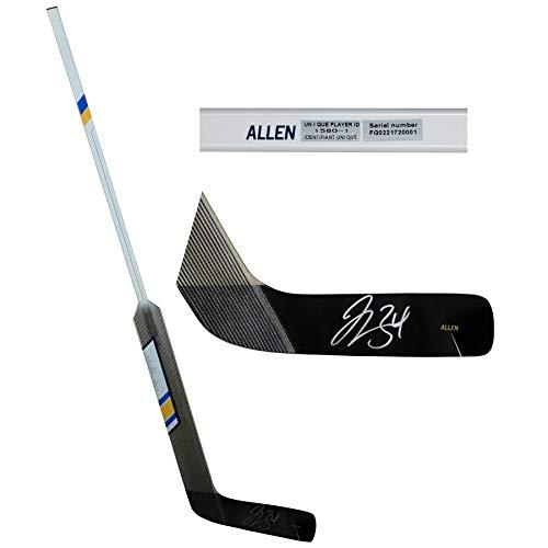 - Jake Allen St Louis Blues FAN Autographed Signed Sher-Wood Game Model Stick - Certified Signature