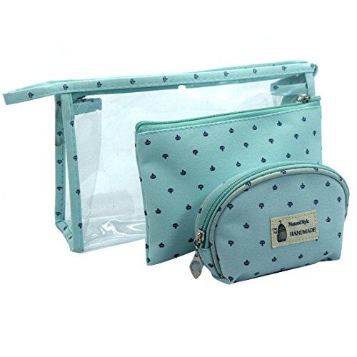trousse de dames bandoulière pièces femme Bleu la main Grand Dunland à Trois pour mode sac à sac tPFH4z6wq