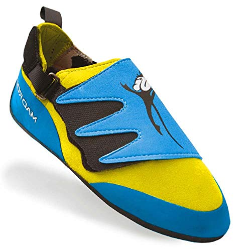 - Mad Rock Mad Monkey 2.0 Climbing Shoe - Kid's Baby Blue/Yellow 1