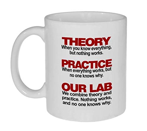- Theory And Practice Coffee or Tea Mug