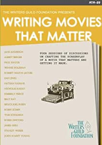 Writing Movies That Matter - How to Write a Feature Screenplay - Disc 1
