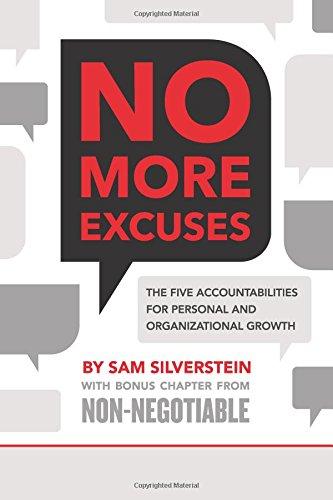 No More Excuses Accountabilities Organizational