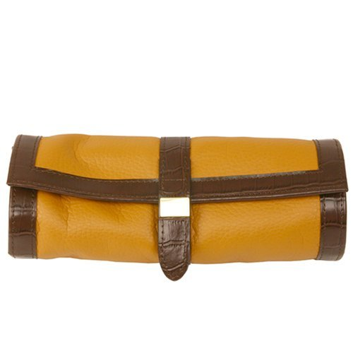 Travel Jewelry Roll Up Leather