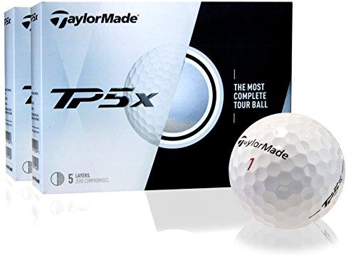 Taylor Made TP5X Golf Balls- Double Dozen by Golfballs.com (Image #1)