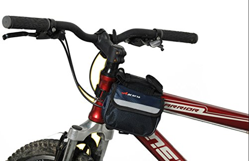 Acacia Sports Bike Frame Front Tube Bag Rain Cover (Pack Sportbike Saddlebags)