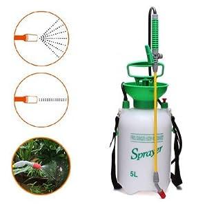 5L Garden Hand Pressure Backpack Sprayer Watering Can Pump Sprayer^.