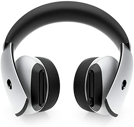 Alienware 7.1 PC Gaming Headset AW510H-Light: 50mm Hi-Res Drivers – Noise Cancelling Mic – Multi Platform Compatible(PS4,Xbox One,Switch) via 3.5mm Jack, Gray 41kAcXct6dL