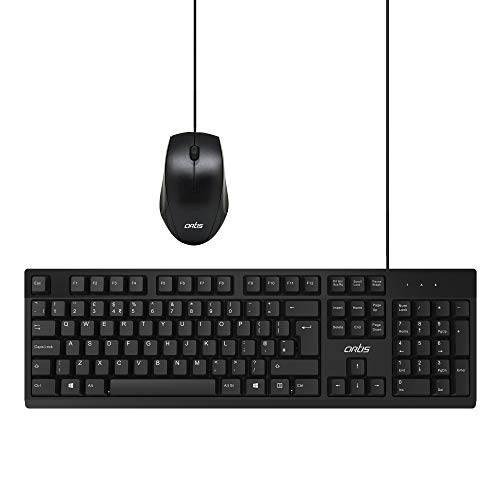 Artis C33 USB Wired Keyboard and Mouse Combo  Black