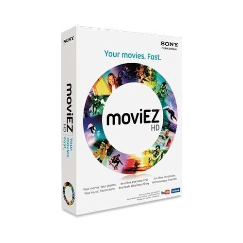 Creation Software (Sony MoviEZ HD Video Creation Software)